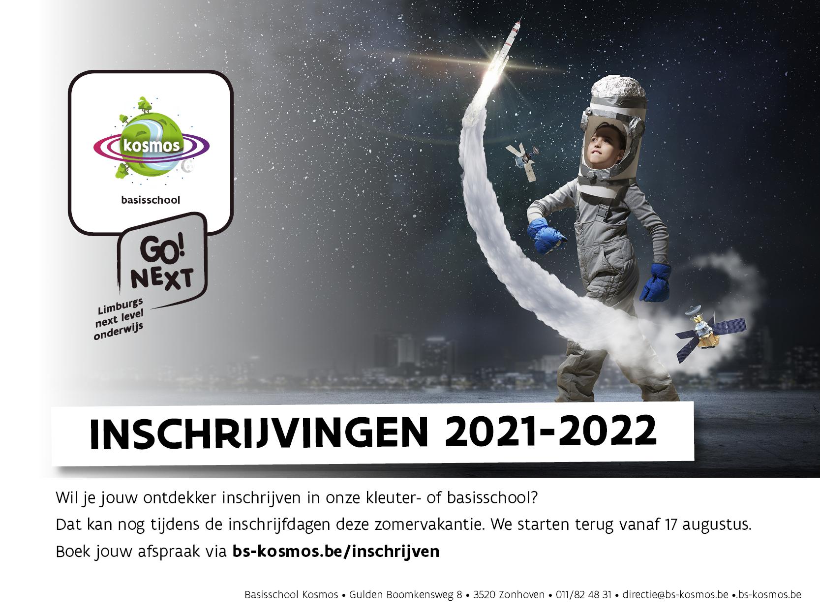 Inschrijvingen 2021